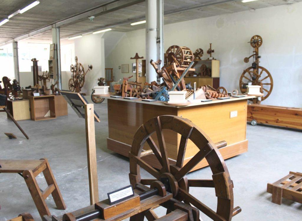 Salles des machines Musée Affabuloscope Ariège Le Mas d'Azil
