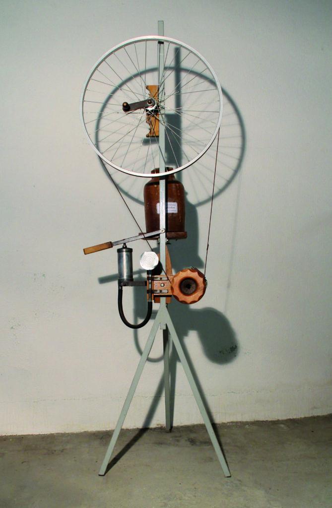 Amidonnoir rotatif à refroidissement par air